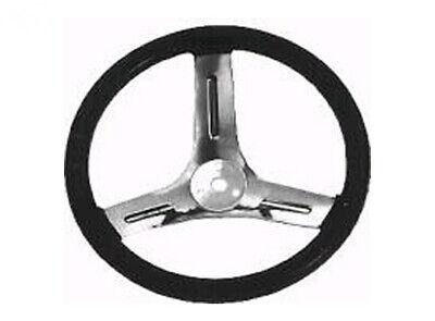 For 20mm Dia Shaft Black Anodized Alloy Flat Go Kart Steering Wheel Boss