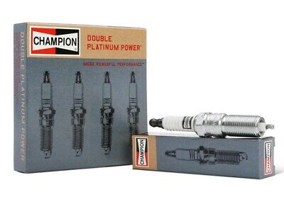CHAMPION DOUBLE PLATINUM POWER Platinum Spark Plugs 7407 Set of 6