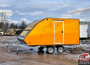 2018 Mission Trailers Crossover Double Jaune, Aluminium