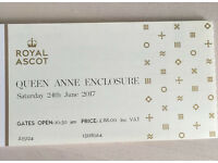 Royal Ascot - 24/6 - Queen Anne Enclosure