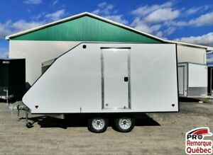 2018 Mission Trailers Crossover Double Blanc, Aluminium