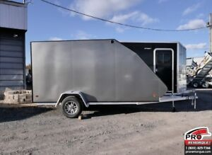 2019 Mission Trailers Crossover Simple Charcoal, Aluminium