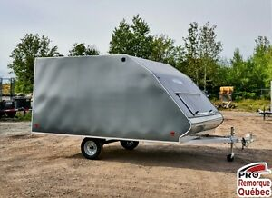 2017 Mission Trailers Crossover Double Charcoal, Aluminium