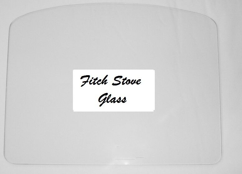 Fitch Stove Glass