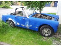 MG MIDGET 1978 Runner - Chrome bumpers - Excellent restoration project