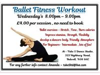Ballet Fitness workout