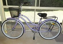 Ladies' cruiser fixed-speed bicycle in lilac Wishart Brisbane South East Preview