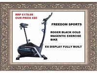Roger Black Gold Magnetic Exercise Bike Ex Display Fully Built Rrp £179.99