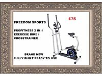 Pro Fitness 2-in-1 Cross Trainer NEW FULLY BUILT