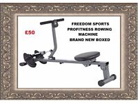 PROFITNESS MANUAL ROWING MACHINE BRAND NEW BOXED REDUCED REDUCED !!!!
