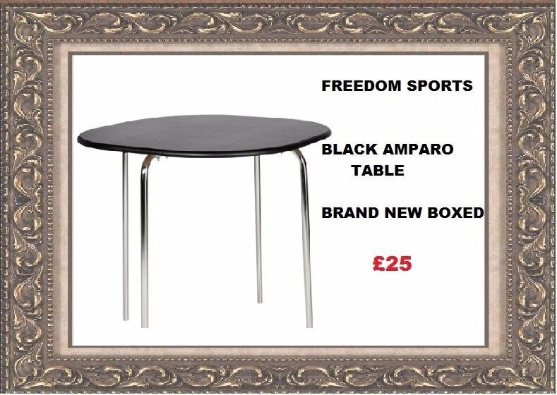 Hygena Amparo BLACK Effect Dining table brand new boxed  : 86 from www.gumtree.com size 789 x 560 jpeg 81kB