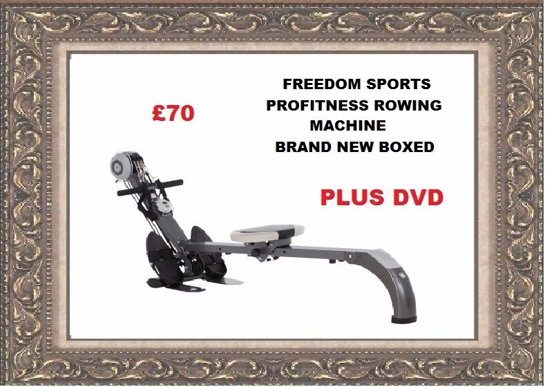 PRO FITNESS GYM AND ROWING MACHINE WITH DVD BRAND NEW BOXEDin Walsall, West MidlandsGumtree - This Pro Fitness gym and rowing machine will help to improve your cardiovascular fitness as well as toning muscle. When not in use, it folds away for convenient storage, making working out at home even easier Elastic cord resistance system with...