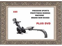 PRO FITNESS GYM AND ROWING MACHINE WITH DVD BRAND NEW BOXED REDUCED REDUCED !!!