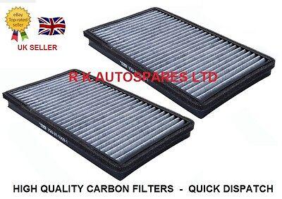 BMW 5 + 6 SERIES E60 E61 E63 E64 (04-) CARBON CABIN POLLEN FILTER MICROFILTER