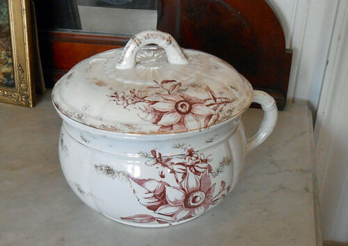 Antique Porcelain Chamber Pot HAVANA