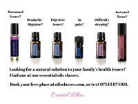 Intro to essential oils - Nature's medicine cabinet