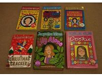 Jacqueline Wilson books x6 set C