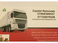 Man and van hire for house office and home move and Rubbish removals driver jobs in London