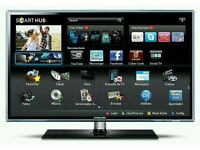 "SAMSUNG 37"" LED Smart 3D tv wifi built USB MEDIA PLAYER HD FREEVIEW full hd 1080p ."
