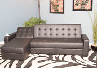 2 Sided Drop Down Sectional.Why pay Retail?? Buy DIRECT!!!