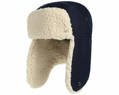Fleece Walking Hat - Regatta Halian Men's Fleece Lined Waterproof Winter Walking Trapper Hat