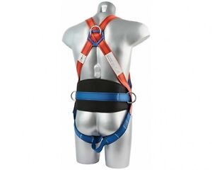 3 Point Safety Fall Arrest Full Body Fall Protection Scaffold Safety Harness