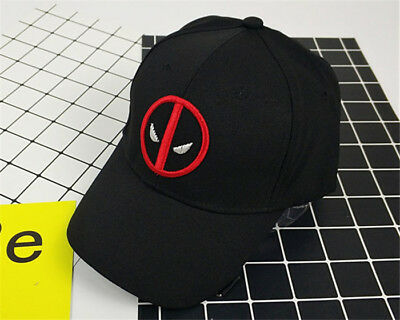 Mens Womens Cap The Avengers Deadpool Baseball Cap Adjustable Strapback Hat](Deadpool Hat)