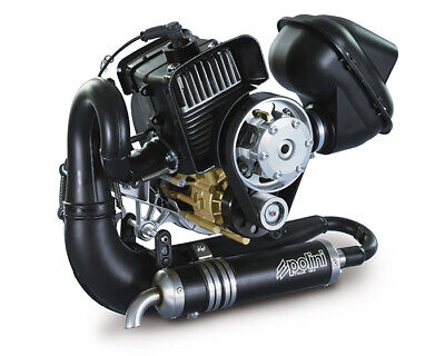 POLINI THOR 190 HF - ELECTRIC starter centrifugal clutch and manual FLASH start