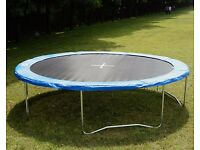 Looking for an 8 Foot Trampoline Frame & Used Scaffold Poles