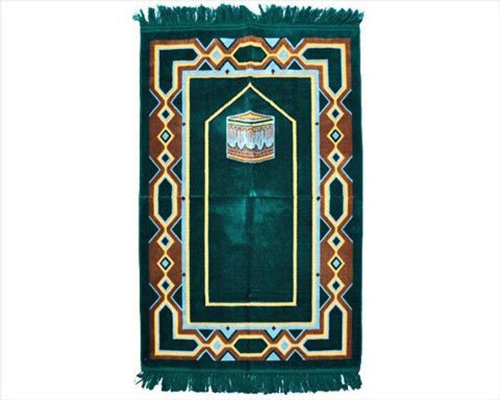SUPERIOR QUALITY TURKISH Prayer Rug. 480 THREAD COUNT for lifelong use.-Ramadan