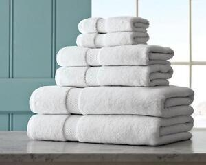 LUXURY HOTEL BATH TOWELS HAND TOWELS FACE CLOTHS