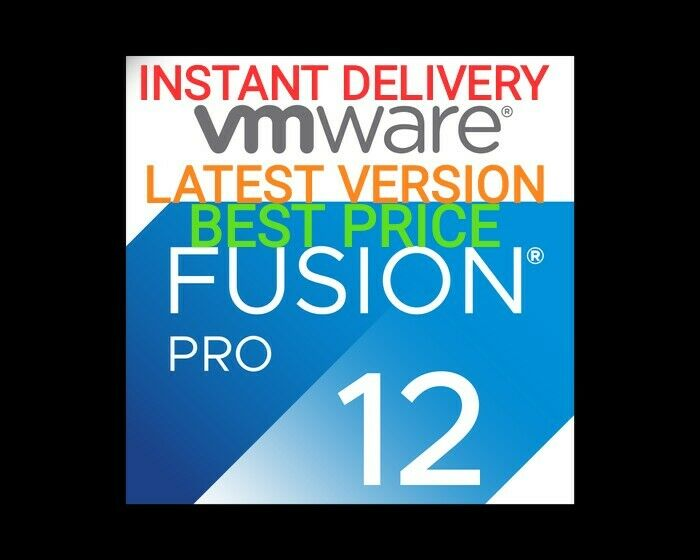 VMware Fusion 12 Pro Genuine Lifetime Activation LATEST+FAST DELIVERY+BEST PRICE