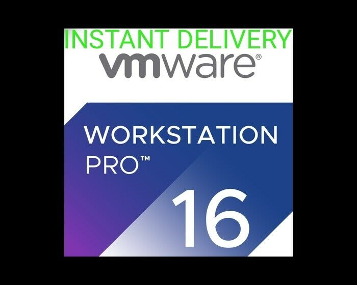 VMware Workstation Pro 16 Genuine Lifetime Activation FAST DELIVERY + BEST PRICE