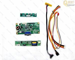 RTMC1B LCD Controller Logic Board Lvds Cable Inverter Kit  for Lots of LCD Panel