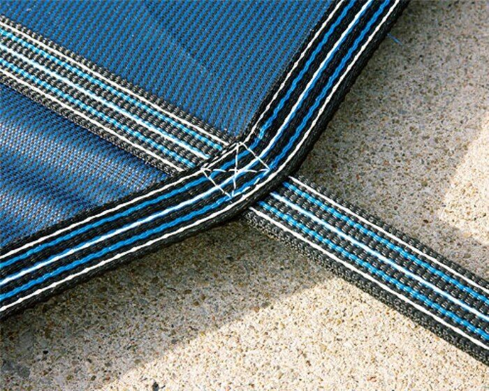 LinerWorld – MESH Winter SAFETY POOL COVER for 20'x40′ IN GROUND POOL Above-Ground Pools