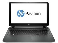 "BNIB - HP pavillion 15.6"" Laptop. intel pentium 4GB ram 1TB HDD, silver"