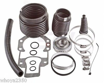 Alpha One, Gen 2 Bellows Transom Seal Repair Kit with Gimbal Bearing Fast Ship