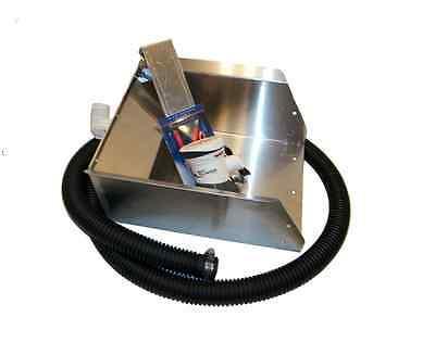 """{ 10"""" Power Header Box Kit }  Sluice, Highbanker,Prospecting"""