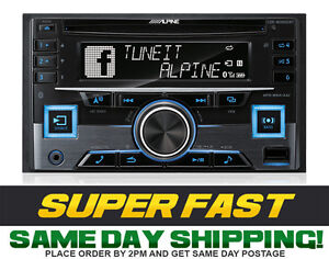 Alpine CDE-W265EBT 2-DIN CD Receiver with Bluetooth/USB/iPod/iPhone/PANDORA
