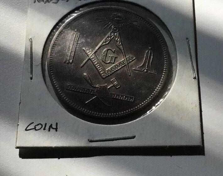 Made a Mason Coin Santa Maria #580 Ramona CA Mint
