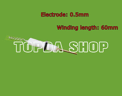 0.5mm Platinum Wire Ring Electrode Length 60mm Platinum Wire Winding
