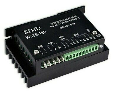 Ws55-180 Dc20-50v Brushless Spindle 3 Phase Bldc Motor Driver Controller Board