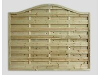 Omega Wave Garden Fence Panel Pressure Treated From £46.50 Each Call 0161 962 9127 Or Visit WA15 7AL