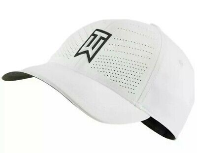 Nike Golf Tiger Woods TW  Heritage 86 Fitted Golf Hat COLOR: White SIZE: M/L