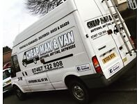 Cheap man and van for hire