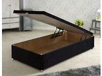 Single ottoman bed base
