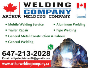 Emergency Mobile Welding services