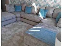 Brand New U-Shape Imported Sofa Quality Plush & Chenille Fabric