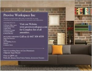WORKSPACE FOR RENT