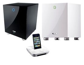 Canton your Sub Wireless Aktiv Subwoofer inkl. your dock für 299€